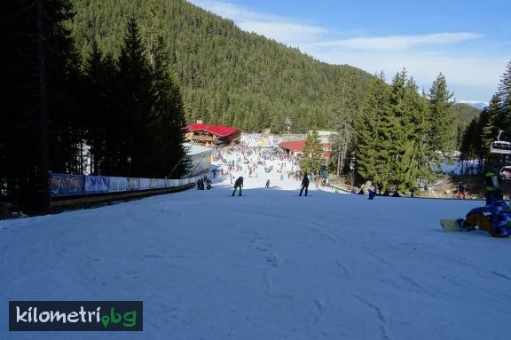 Kids ski track, Pirin mountain