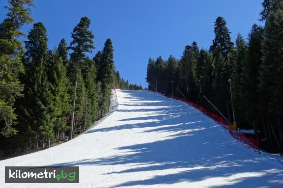 """Martinovi baraki 4"" ski track (black), Rila mountain"
